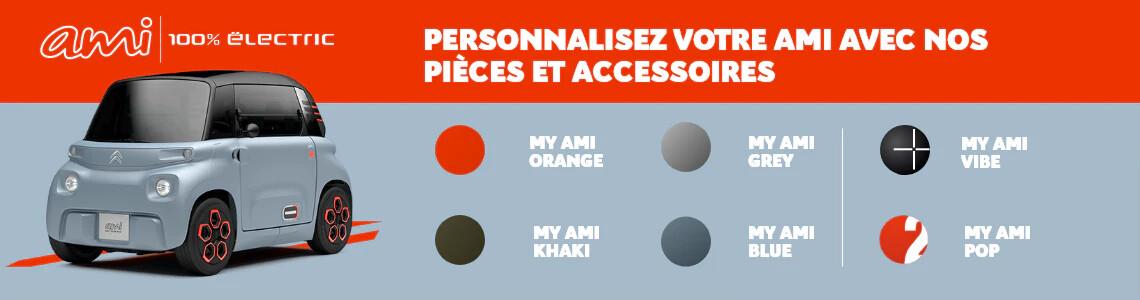 Personnalisez votre AMI avec nos pièces et accessoires